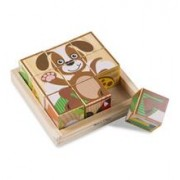 Primele Mele Cuburi Puzzle Cu Animale