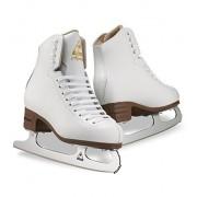 Jackson JS1494 Mystique Tots Ice Skates White Beginner Level Figure Skating (C