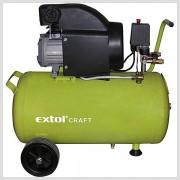 Olejový kompresor 1500W 800kPa 50L Extol Craft