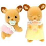 Twins of Sylvanian Families doll deer deer family (japan import)