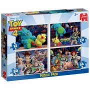 Disney Toy Story 4 - 4 in 1 Puzzel (12, 20, 30 en 36 stukjes)