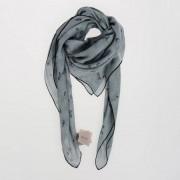 Bottega Veneta Foulard In Seta Stampa Farfalle 90x90 Cm Primavera-Estate Art. 86485