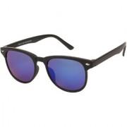 Arzonai Tints Wayfarer Black-Blue UV Protection Sunglasses For Men & Women MA-7136-S3