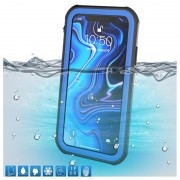 Capa Impermeável IP68 Active Series para iPhone XS Max - Azul / Preto