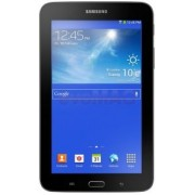 "Tableta Samsung Galaxy Tab 3 Lite Value Edition T113, Procesor Quad Core 1.3 GHz, TFT Capacitive touchscreen 7"", 1GB RAM, 8GB Flash, 2 MP, WI-FI, Android (Negru) + Cartela SIM Orange PrePay, 6 euro credit, 4 GB internet 4G, 2,000 minute nationale si inter"
