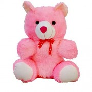 Toystation Cool Pink 60 CM 2 Feet Teddy Bear Pink Teddy Bears Huggable And Toystation Loveable For Someone Special