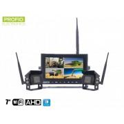 "Cuvacia kamera bezdrátový set 2x HD + 7"" HD monitor"