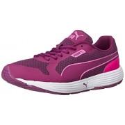 Puma Women's Future Runner II Wn's Idp Magenta Purple and Pink Glow Running Shoes - 7 UK/India (40.5 EU)