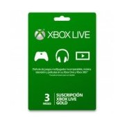 XBOX LIVE GOLD 3 MESES R15 . .