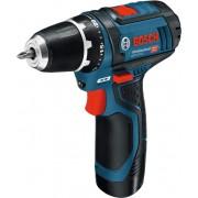 Akumulatorska bušilica-odvrtač Bosch GSR 12V-15; 2x2,0Ah; L-Boxx (0601868109)