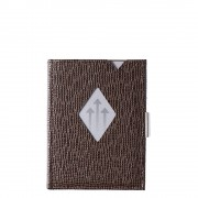 Exentri Leather Leather Wallet mosaic brown Dames portemonnee