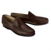 Montecatini Moccasin Slippers, 11 - Dark Brown