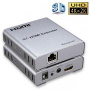 Extender HDMI 4K, UTP hasta 50mts, X-Case 50 mts HDMIEXT4K-50