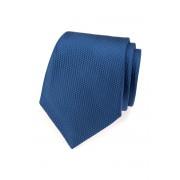 Kravata modrá malé trojúhelníčky Avantgard 559-485