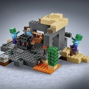 Lego Star Wars Lego Minecraft Premium The Dungeon Educational Toys 219 Pieces Enter The Zombie Spawning Dungeon At Your Peril!