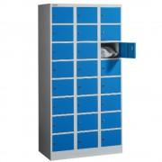 DULAP METALIC PENTRU VALORI CU 24 COMPARTIMENTE, 900x500x1800 mm, FIRST