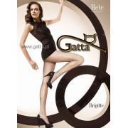 Gatta Strumpbyxor med nätstruktur Brigitte 04 black/grigio 3/4