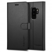 Husa Spigen Wallet S Samsung Galaxy S9 Plus Black