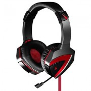 HEADPHONES, A4 G500 Bloody, Microphone, Red