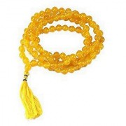 Natural Yellow Sapphire Stone Mala Original Certified Stone Jaipur Gemstone