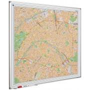 Smit Visual Whiteboard landkaart - Parijs