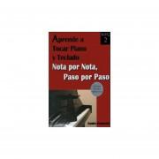 Aprende a tocar piano y teclado 2. nota por nota paso a paso (incluye cd)