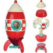 Jucarie educativa Janod Magnetic Rocket