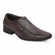 Red Chief Brown Low Ankle Leather Slip On Shoe (RC3540 003)