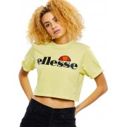 Ellesse Alberta Crop Damen T-Shirt gelb Gr. M