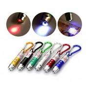 3V1 UV LED laserová klúčenka