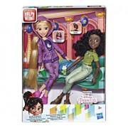 Set papusi Disney Princess Comfy II - Rapunzel si Tiana