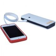 Hobins P3 Ultra Shine Portable Battery Charger 20000 MAh Power Bank (White)