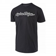 Lee Troy Lee Designs Signature T-Shirt - Black/White - XL - Black/White