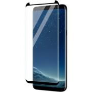 Folie Protectie Sticla Securizata Zmeurino Full Body 3D Curved pentru Samsung Galaxy S9 (Negru/Transparent)