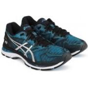 Asics GEL-NIMBUS 20 Running Shoes For Men(Black, Blue)