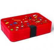 LEGO Iconic, Cutie rosie de sortare piese