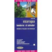 Wegenkaart - landkaart Nicaragua, Honduras & El Salvador | Reise Know-How Verlag
