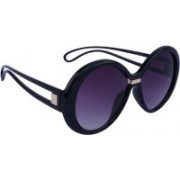 Marc louis Over-sized Sunglasses(Violet)