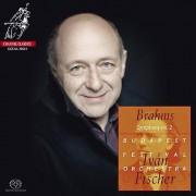 Unbranded Brahms / Fischer / Budapest Festival Orch - importation USA Sym 2 tragique Ovtr Academic Festival Ovtr [SACD]