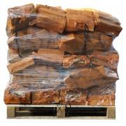 40 zakken gedroogd essenhout a 8 kg