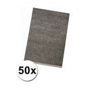 Rayher hobby materialen 50x Hobby carbon papier A-4 formaat