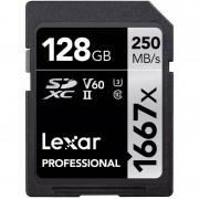 Lexar SDXC Professional 1667X 128GB UHS-II U3 V60 250MB/s