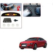 Auto Addict Car White Reverse Parking Sensor With LED Display For Audi S5