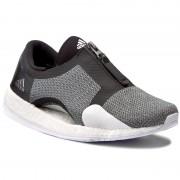 Cipők adidas - PureBoost X Tr Zip BY1671 Cblack/Silvmt/Ftwwht