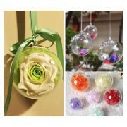 Decoración De La Bola Del Arbol De Navidad De Los Ornamentos 8cm
