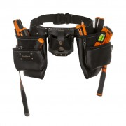 Toolpack Double-Pouch Tool Belt Leather Industrial 366.000