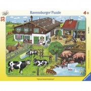 Puzzle Familii De Animale, 33 Piese Ravensburger