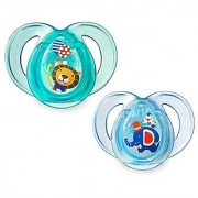 Tommee Tippee Closer To Nature Everyday Pacifier Blue 6-18 Months 2 Count