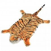 "Sonata Плюшен килим ""тигър"", 144 см, кафяв"