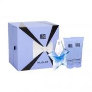 Thierry Mugler Angel set cadou Reincarcabil Apa de parfum 50 ml rezerva + loțiune de corp 100 ml + 100 ml gel de duș pentru femei